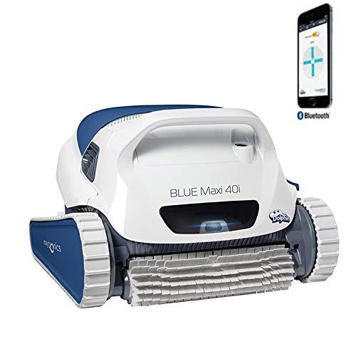 Dolphin Blue Maxi 40i - Robot automático limpiafondos para Piscinas (Fondo y Paredes) Sistema de navegación preciso...