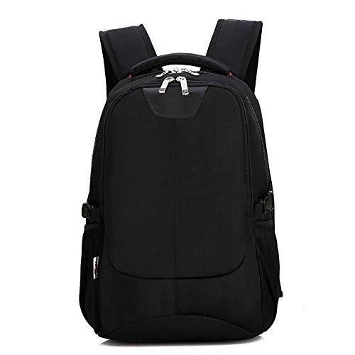 Business laptop backpack 15.6 pollici travel nylon laptop bag nero 20-35l hc