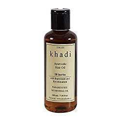 Khadi 18 Herbs Hair Oil - 210 ml