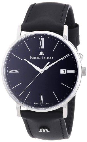 maurice-lacroix-mens-quartz-watch-eliros-el1087-ss001-310-with-leather-strap