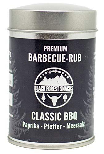 Barbecue-Rub Classic-BBQ 75g Gewürz-Mischung, Trocken-Marinade zum Grillen
