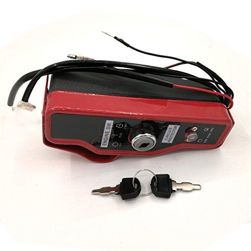 Shioshen Zündschalter Box w/Schlüssel für Honda GX340 GX390 GX 340 390 11HP 13HP Motor-Generator Zapfsäule