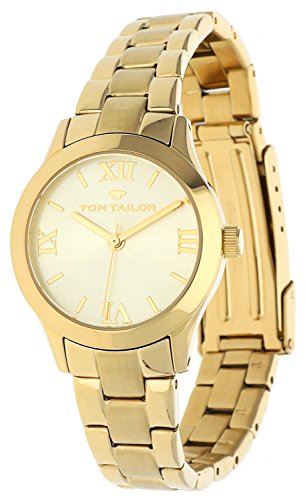 Tom Tailor Femmes Montre Or 5416202