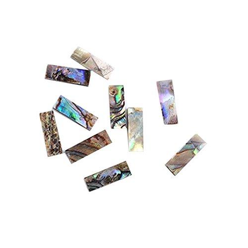 10pcs / set Femmes Filles Nail Sequin Shell Nail Art Sticker Femme enveloppements manucure Décor outil Mengonee