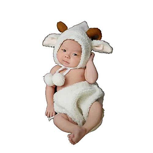 NROCF Schaf Neugeborenes Baby Fotografie Prop, Herbst