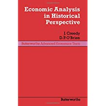Economic Analysis in Historical Perspective