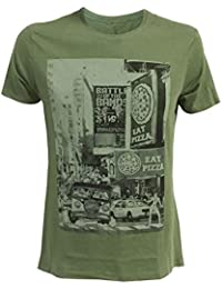 Ninja Turtles - City Men's T-Shirt - Maat M (Groen)