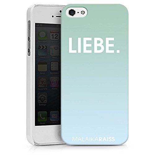 Apple iPhone X Silikon Hülle Case Schutzhülle Liebe Mint Farbverlauf Hard Case weiß