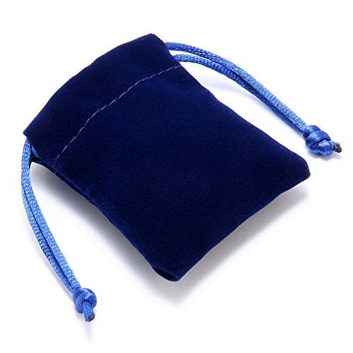 Flongo Bracelet Acier Inoxydable Coeur Amour Saint Valentin Chic Classique Couleur optionnel Fantaisie Bijoux Cadeau pour Femme Argent/Noir/Or;3pcs