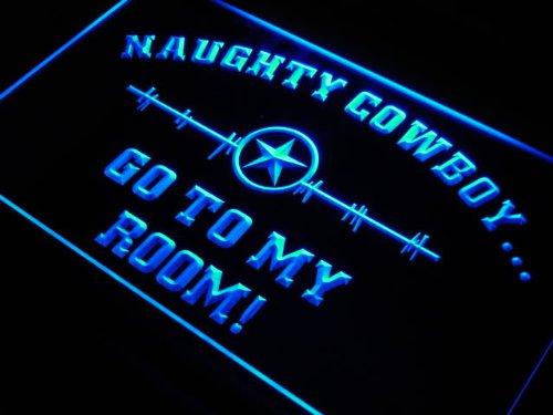 ADV PRO s225-b Cowboys Star to my Room Neon Light Sign Barlicht Neonlicht Lichtwerbung -