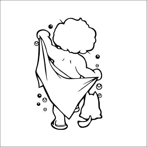 Neue Baby Dusche Wandaufkleber Wohnkultur Für Badezimmer Wandtattoos Für Kinderzimmer Kinderzimmer Dekoration