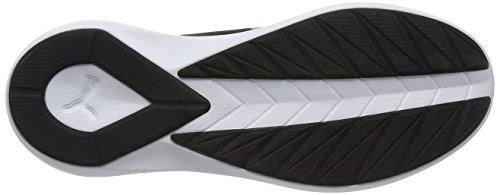 Puma Rebel Mid Wns, Scarpe da Ginnastica Basse Donna Nero (Black-black-white)
