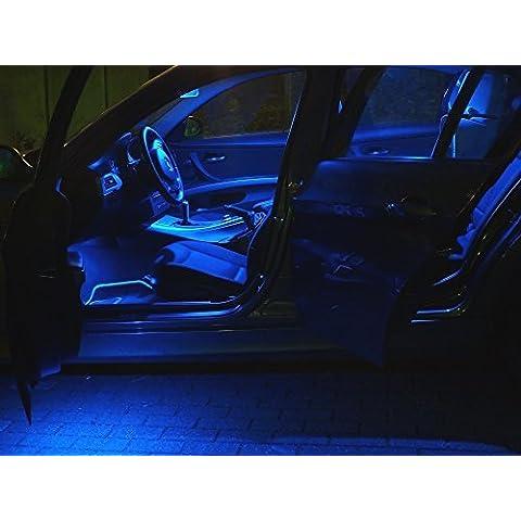 9x LED blu Illuminazione Interni Audi A5 S5 RS5 Coupe S-Line dal 07dal 07 Luce Delle Lampade