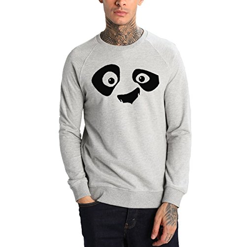 Young Trendz Men's Cotton Printed Bio-Wash Raglan Sleeve Sweat Shirt