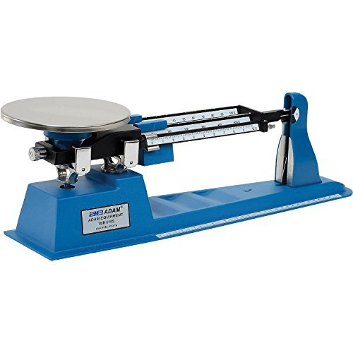 Adam Equipment Triple Beam Balance 610g X 0.1g 6 Diameter Platform by Adam Equipment -