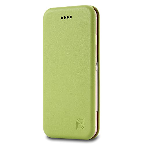 Coque iPhone 6s , Aomo iPhone 6s Coque Housse en cuir Cover [Flip Case][Fente pour carte] PU Protection en cuir Cas de téléphone pour iPhone 6s - Rouge Vert