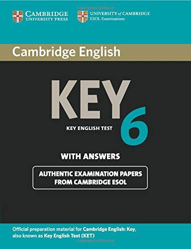 Cambridge English Key 6 (Ket Practice Tests)