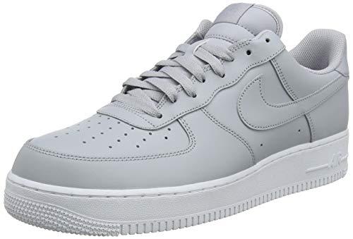 buy online 72a00 7e879 Nike Air Force 1 07, Zapatillas para Hombre, Gris Wolf Grey-White 010