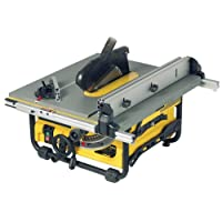 DeWalt DW745 254mm Heavy Duty Lightweight Table Saw