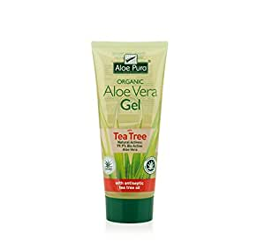 Aloe Pura Aloe Vera Gel Corpo con Tea Tree, 200 ml