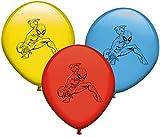 Verbetena 8 Ballons * Spiderman * pour Anniversaire d'enfant ou Un Super héros Mottoparty Super héros Marvel Avengers Comic Ballons de Motto Party Anniversaire