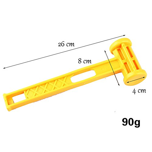 41zyjs1%2B0nL. SS500  - Gossip Boy Protable Ultralight Plastic Tent Peg Stake Mallet Hammer for Outdoor Camping