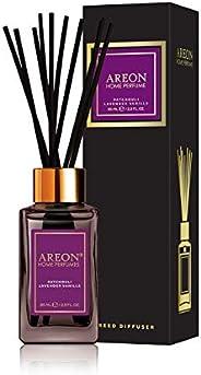 Areon Home Perfume Reed Diffuser 85 ml Premium 10 Rattan Reeds - Patchouli, Lavender & Van