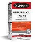 Best Krill Oil Supplements - Swisse Wild Krill Oil Dietary Supplement 1000MG 30 Review