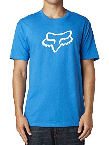 Fox Herren T-shirt Legacy Foxhead Ss Tee Blau