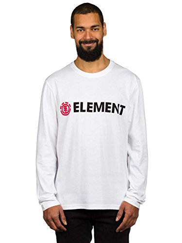 Element Horizontal Longsleeve Optic White