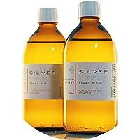PureSilverH2O 1000ml kolloidales Silber (2X 500ml / 15ppm) - Reinheit & Qualität seit 2012 preisvergleich bei billige-tabletten.eu