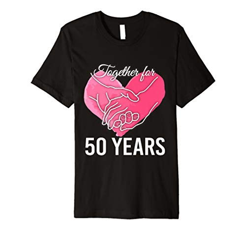 50th Wedding Anniversary Marriage Gift Tees The Best Amazon Price In