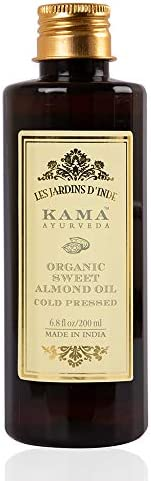Kama Ayurveda Organic Sweet Almond Oil, 200ml