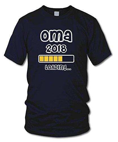 shirtloge - OMA 2018 LOADING... - KULT - Fun T-Shirt - in verschiedenen Farben - Größe S - XXL Navy