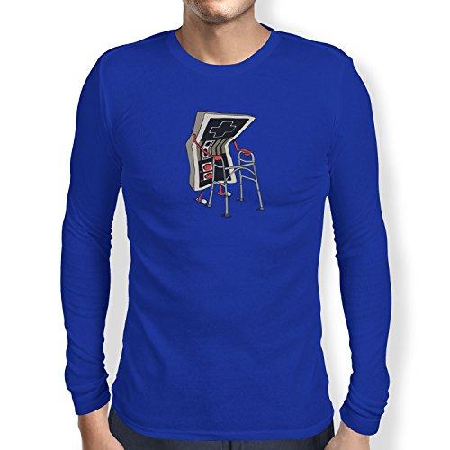 TEXLAB - Old Controller - Herren Langarm T-Shirt, Größe S, (Persia Prince Cosplay Of Kostüm)