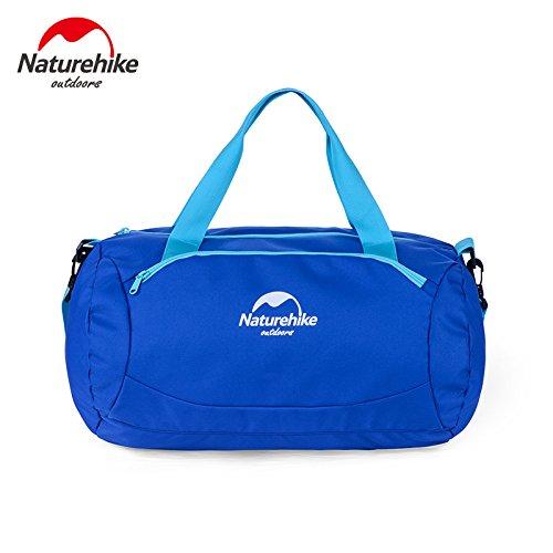 Naturehike Nass und Trockentrennzon Sporttasche Reisetasche Base fur Camp Schwimmen Aufbewahrungstasche Wasserabweisend Seesack Blue