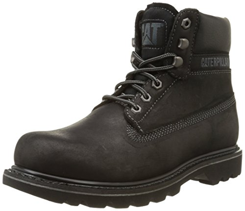 Cat Footwear Colorado Fur, Anfibi Uomo Nero (Nero (MENS BLACK))