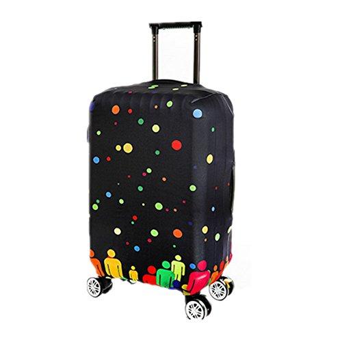 Super Cabin leggero Approvato viaggio dei bagagli Wheelie Bag Cabin Approvato caso valigia trolley 4 taglie disponibili Xagoo (S(18-20 pollici))