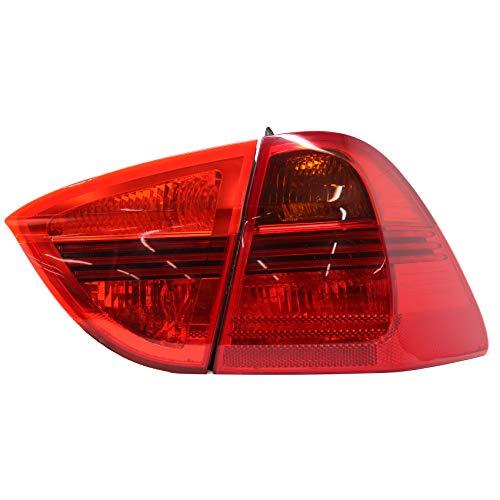 Finest Folia Rückleuchtenfolie Rückleuchten Folien Set (Red, E91 Kombi)
