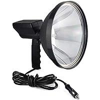Ironheel Primer Plano de Mano lámpara de xenón HID, portátiles Pulgadas 1000W 245mm Linterna Luces búsqueda 9, para Acampar al Aire Libre Pesca Caza