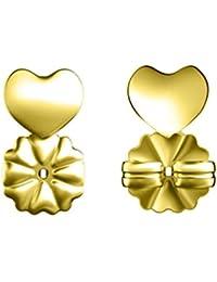 BESTOYARD Earring Lifters Adjustable Hypoallergenic Earring Lifts (Gold) - 1 Pair