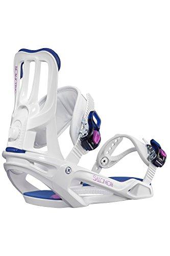 Salomon Damen Spell Snowboardbindung weiß M -