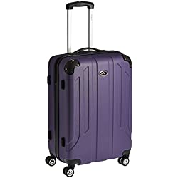Pronto Protec ABS 58 cms Purple Hard Sided Carry-On (6516 - PL)