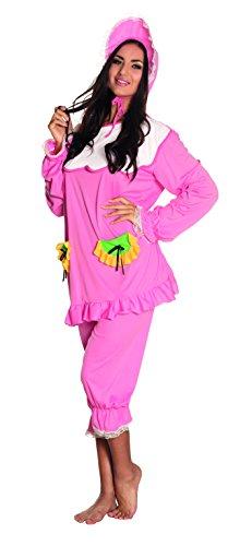 Boland 83849 - Erwachsenenkostüm Big Baby, rosa (Mario-kostüm Baby Für)
