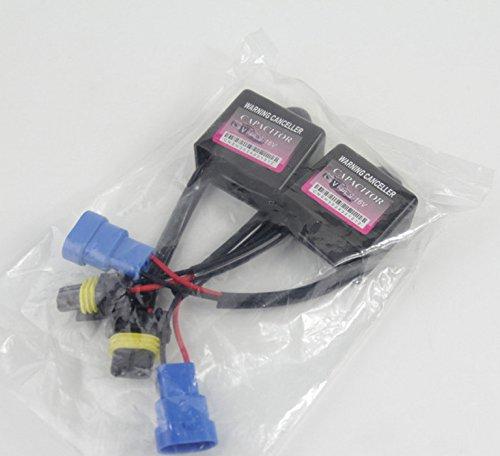 zhjz 2Pcs HID Xenon Fehler Code warnunterdrücker Kondensator Decoder für Auto