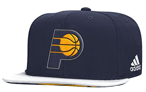 Indiana Pacers Adidas 2015 NBA Draft Day Authentic Snap Back Hat Hut (Indiana Basketball Bekleidung)