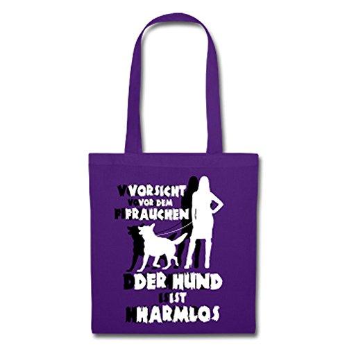 Schäferhund: Vorsicht vor dem Frauchen – der HUND ist HARMLOS Lila