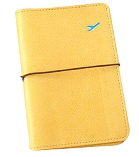 Cubierta del pasaporte - Funda para el Pasaporte (Amarillo)