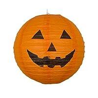 "12"" Paper Lantern Halloween Pumpkin"