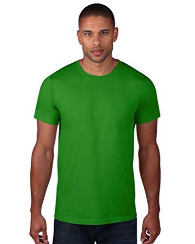 Apple Top Shirt (Anvil Fashion Fit T-Shirt 980, Größe:L;Farbe:Green Apple)